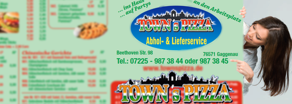 pizza towns shop